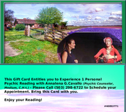 Psychic Reading Gift Card